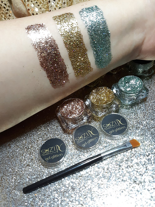 Glam Gel Glitter Trio