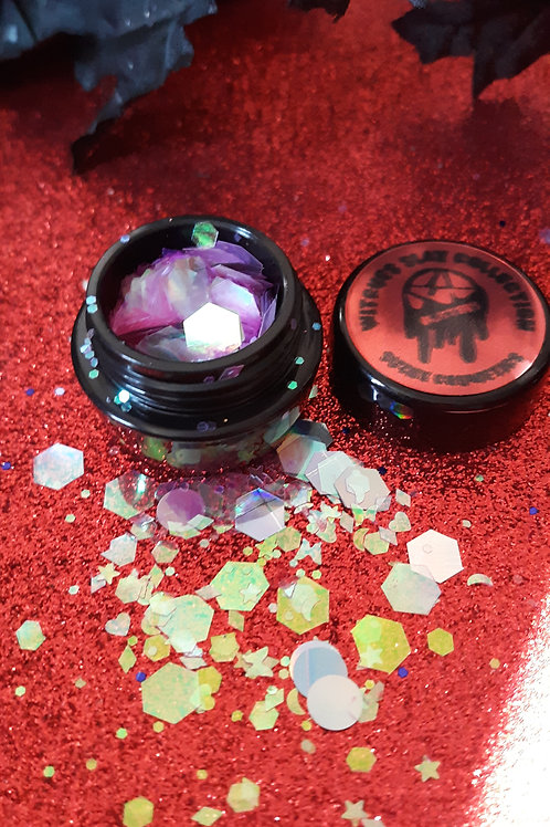 witches slay collection ( pink)chunky glitter