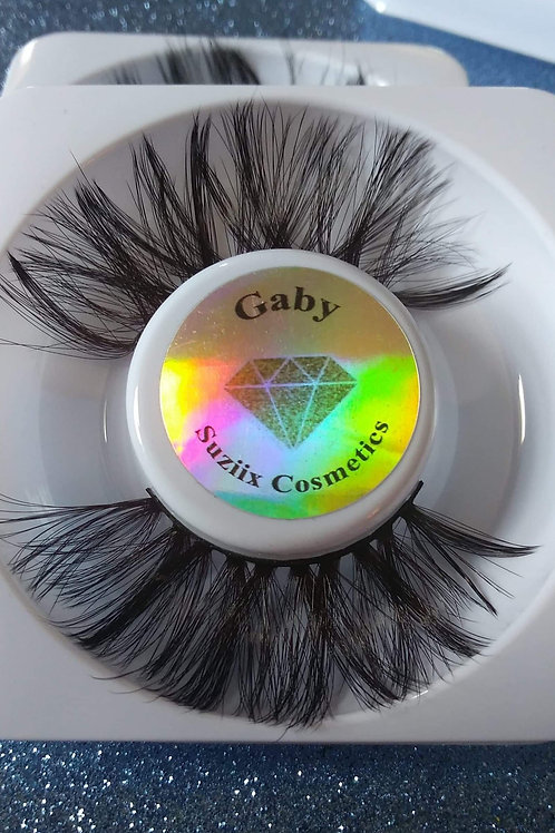 Gabby 25mm lashes