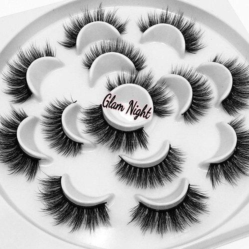 """Glam Night"" Flower lash Set"