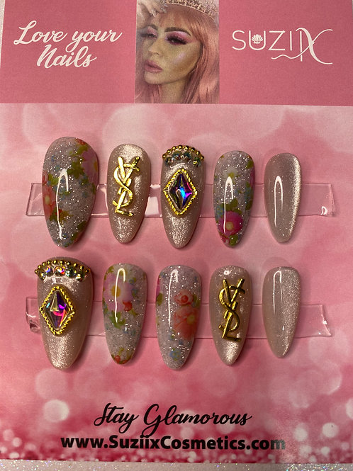 Glam Inspired Nails