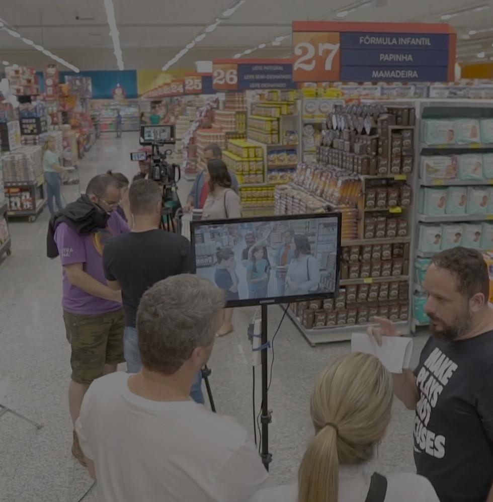 Supermercado da Rede Shibata making of