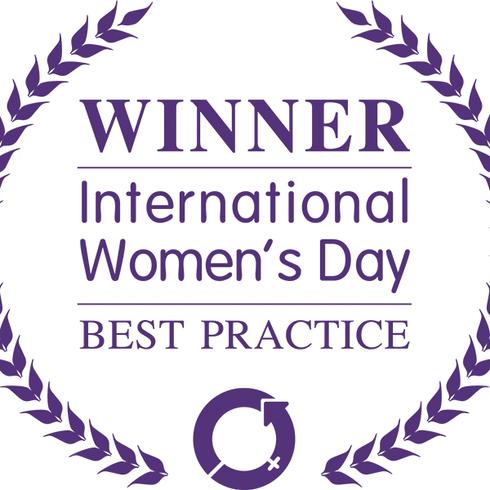 International Women's Day best practice award