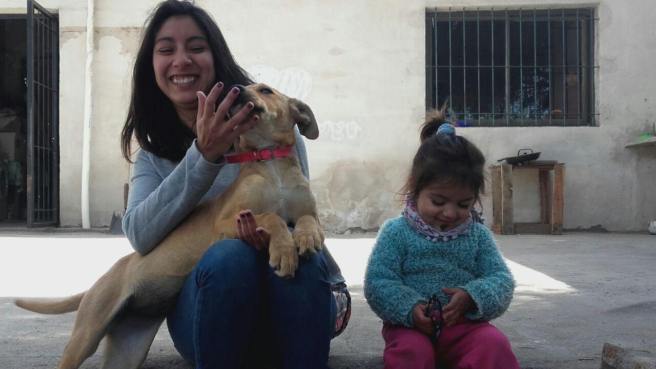 Nati, Maia y Ema