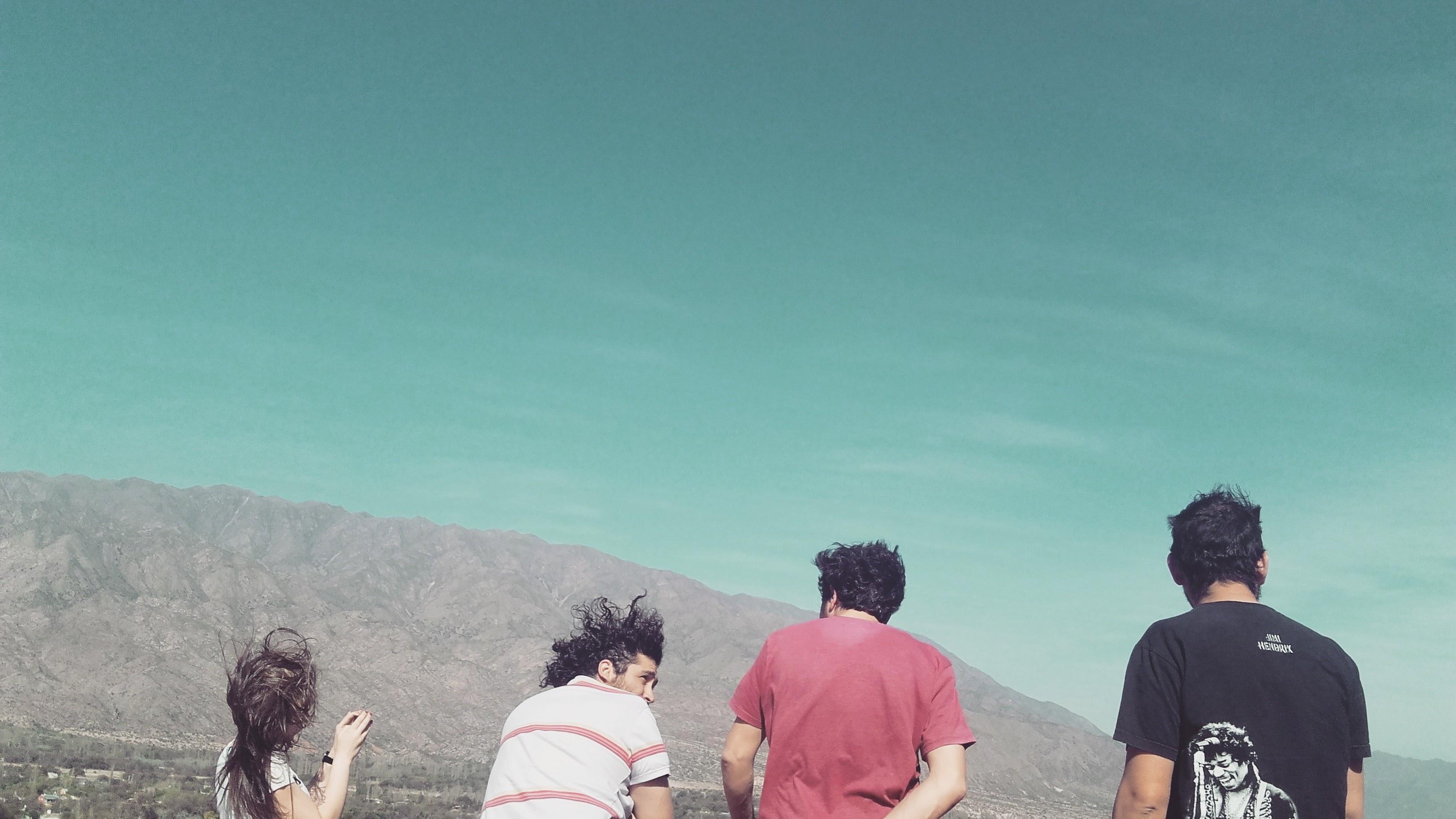 Rusa, Dani, Seba y Diego