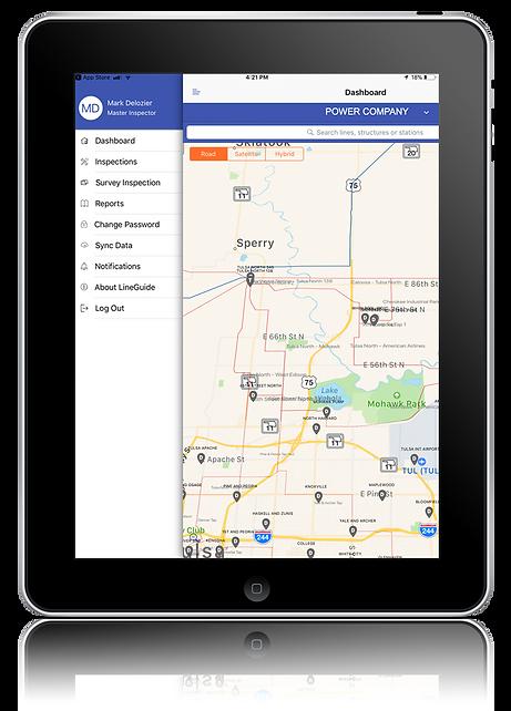 LineGuide iPad