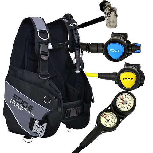 Scuba Diving Gear Setup