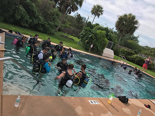 Open Water Scuba Course