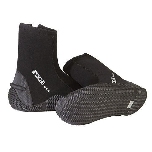 Scuba Diving Edge 6mm Tall Boot (Pair) (Sizes 4- 14)