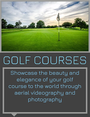 Showcase the beauty and elegance of your golf course to the world through aerial videography and photography.