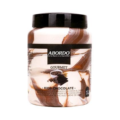 Helado Kids Chocolate (Tipo Kinder) (1L)