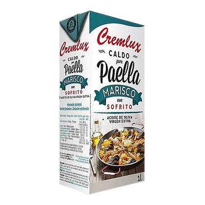 Caldo de Paella con Sofrito
