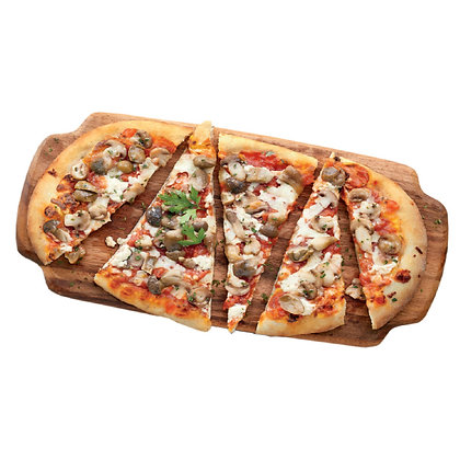 Pizza Gourmet Forno a Legna Provolone e Funghi (400 g)