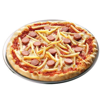 Pizza con Patatas y Salchicha (370 g)