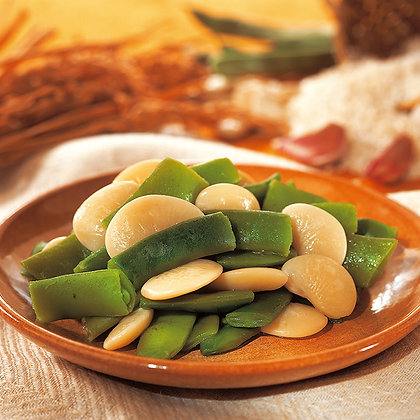 Verduras para Paella (Garrofón y Judía Plana) (1 kg)