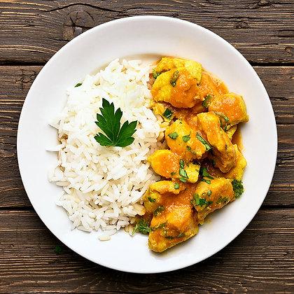 Pollo al Curry con Arroz (300 g)