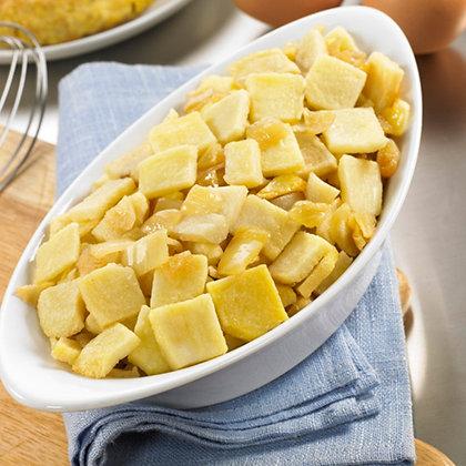 Mezcla para Tortilla de Patata Frita Laminada y Cebolla Frita Cubo (1 kg)