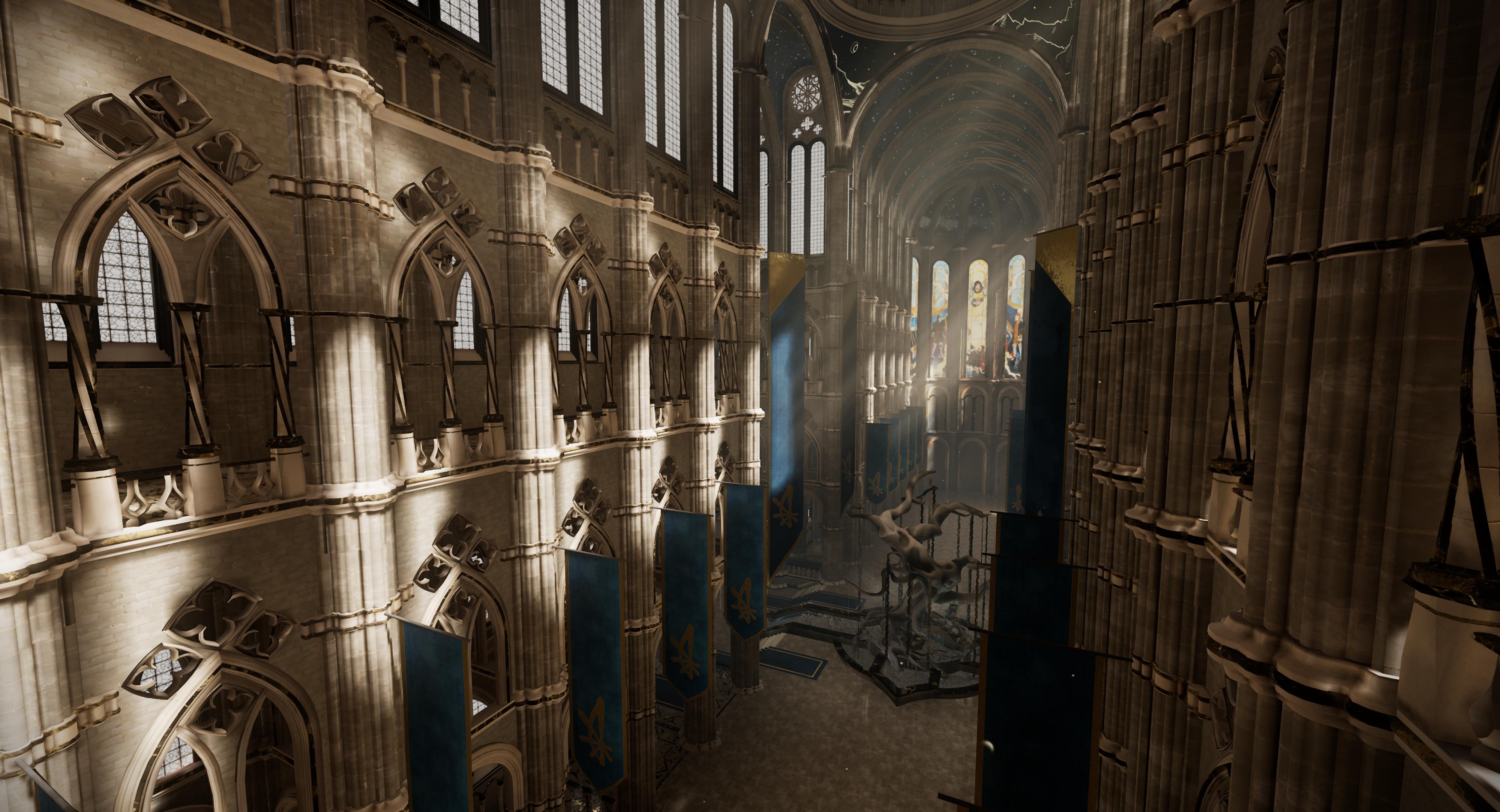 The Citadel - Transept