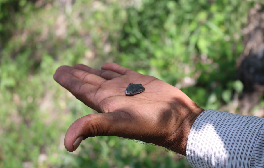 Huehuepiaxtla, obsidian point