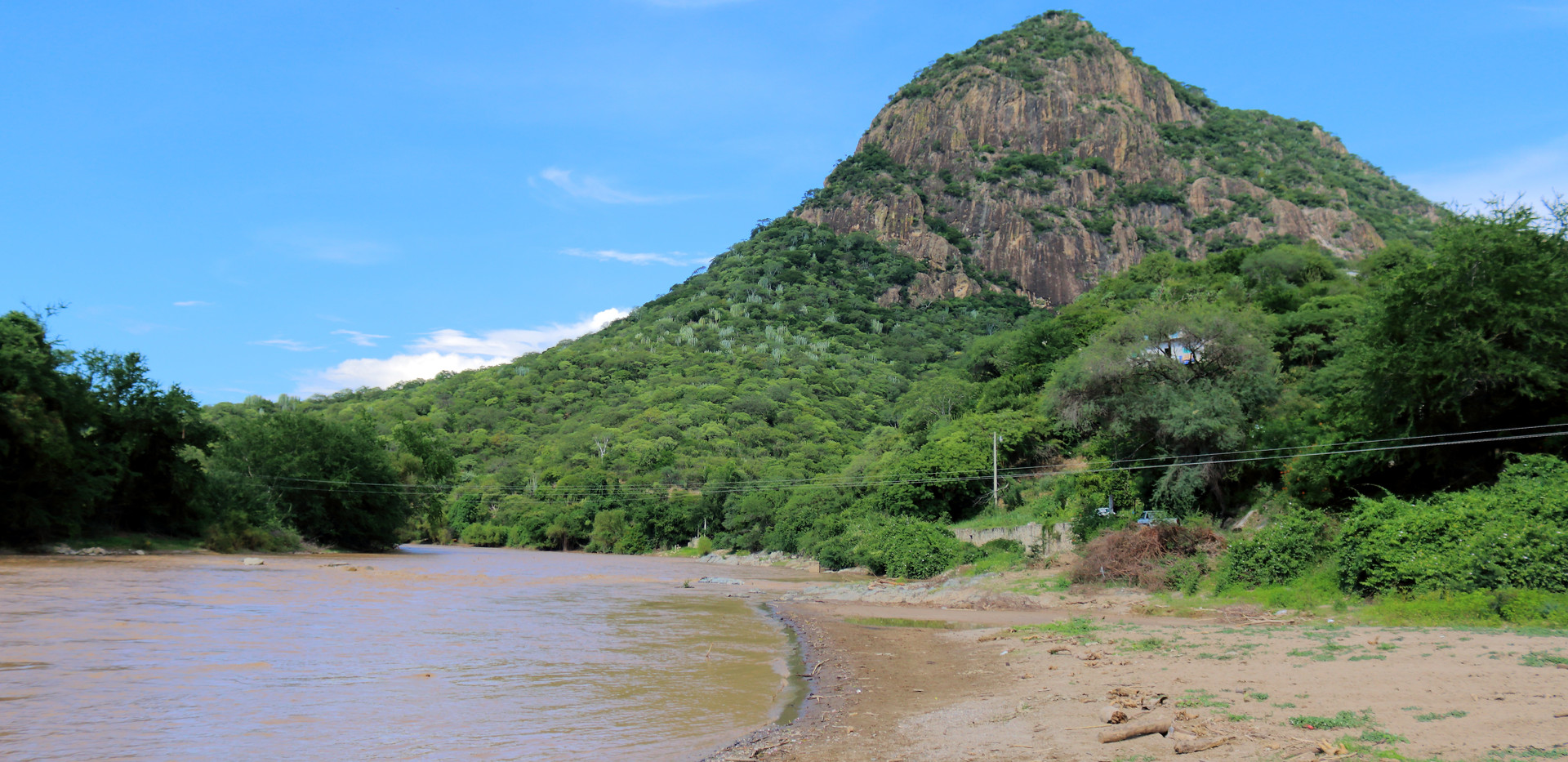 The rock of Huehuepiaxtla