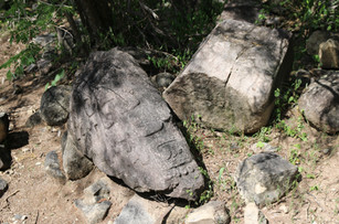 Huehuepiaxtla, inscribed stela