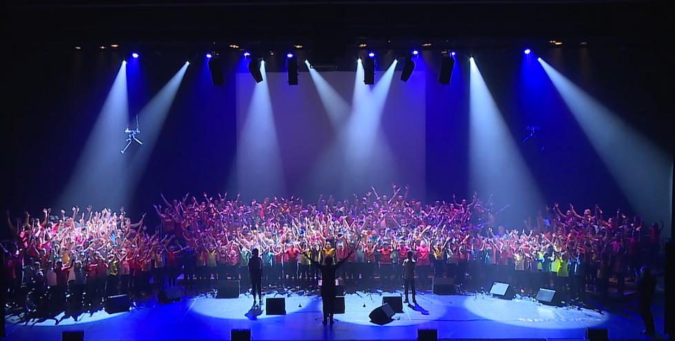 Concert Citoyen, choeur d'enfants