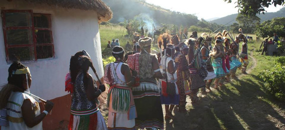 Sangoma graduation ceremony (Mpumo)