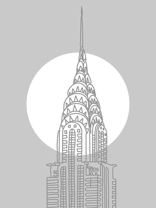 Chrysler Building Print
