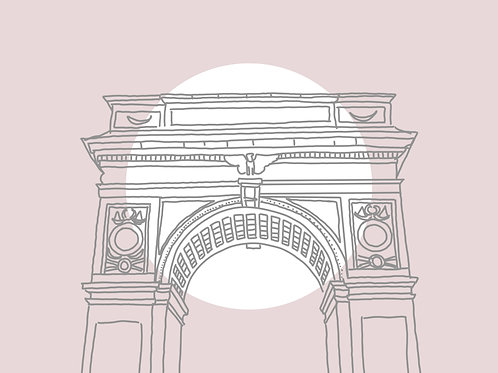 Washington Square Arch Print