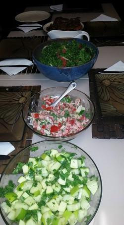 Three Salads