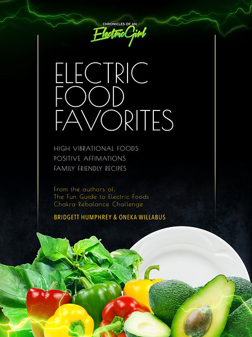 Electric Food Favorites E-Book