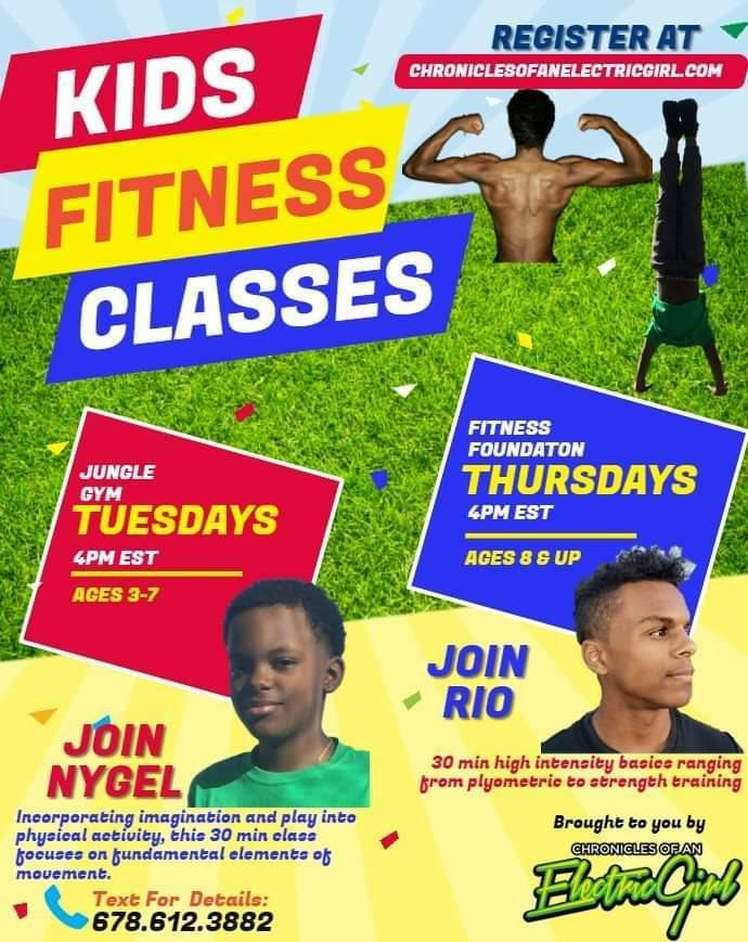 Kids Fitness Flyer 05.03.2020