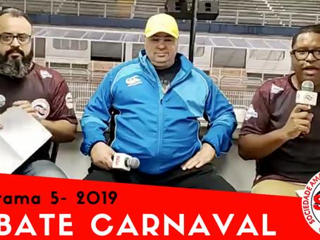 Reveja o Debate Carnaval da semana com o presidente da Águia de Ouro, Sidnei Carriuolo