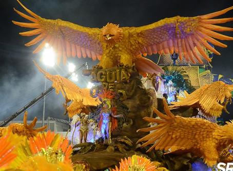 Águia de Ouro abre segunda noite do Especial em SP e tem aprovação popular
