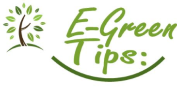 March E-Green Tips