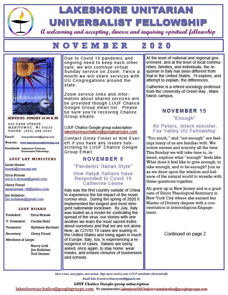 LUUF Newsletter - 11 - Nov  20201024_1.j