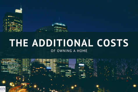 The Additional Costs of Owning a Home