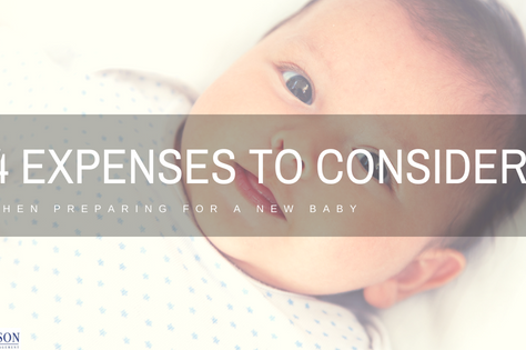 Four Expenses to Consider When Preparing for a New Baby