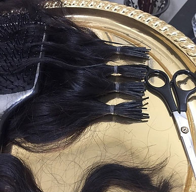 Hair fusions prepped and ready!