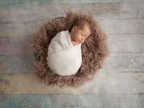 Fotoretusche bei Neugeborenen