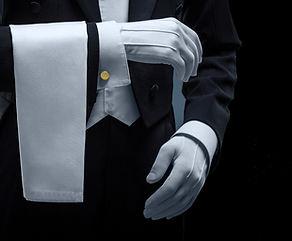 Notre service de livraison d'excellence Gants Blancs