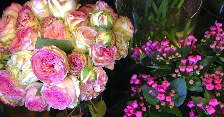 Roses branchues & Bouvardia