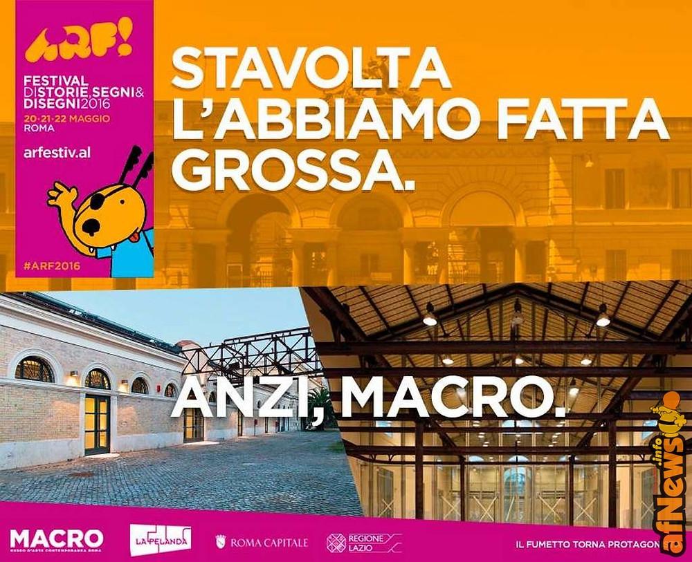 ARF! Festival 20-21-22 Maggio 2016 Roma