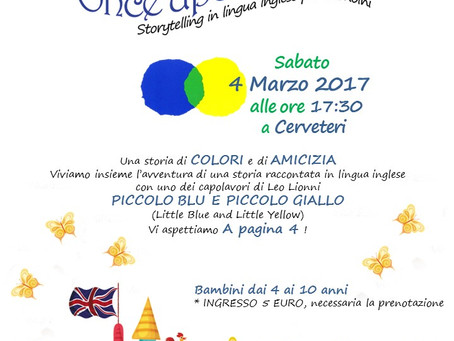 """ONCE UPON A TIME..."" - Storytelling in lingua inglese per bambini a Cerveteri"
