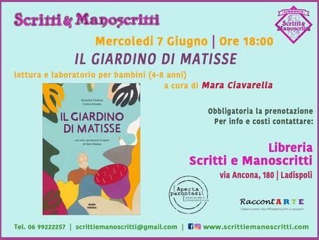 "RaccontARTE ""Il Giardino di Matisse"""