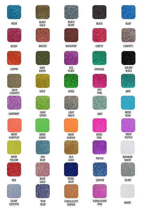 Siser Glitter - Neon & Rainbow