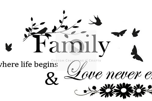 Where family begins