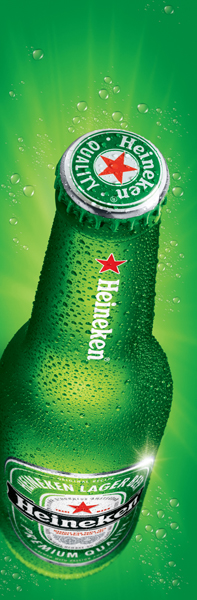 Plane Heineken 300x900m