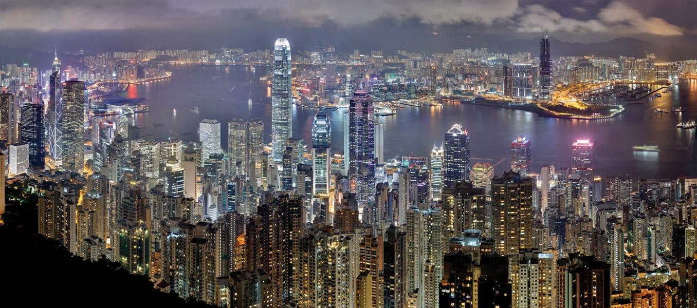 Durchlichtplane Hongkong 720x318 cm