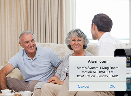 Alarm.com's Wellness Services Helps Your Loved Ones Live Independently